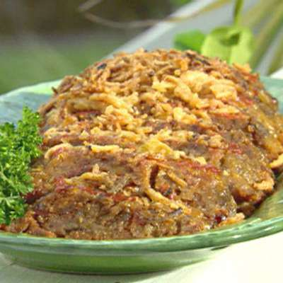 Bacon Cheeseburger Meatloaf - RecipeNode.com