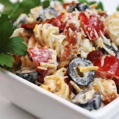 Bacon Ranch Pasta Salad - RecipeNode.com
