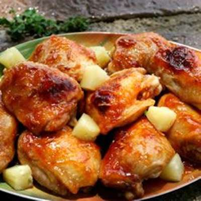 Baked Apricot Chicken - RecipeNode.com