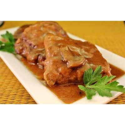 Baked Fake Steak with Gravy - RecipeNode.com