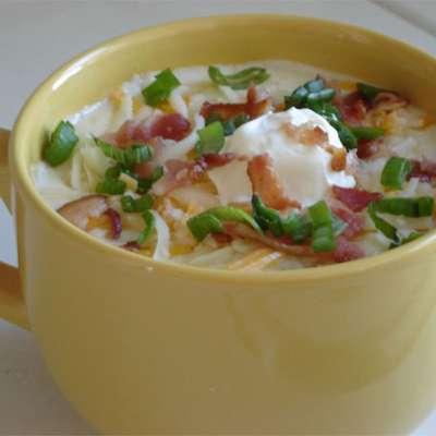 Baked Potato Soup I - RecipeNode.com