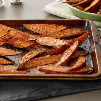 Baked Sweet Potato Wedges - RecipeNode.com