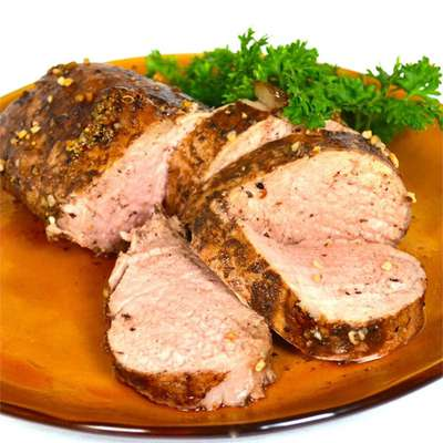 Balsamic Roasted Pork Loin - RecipeNode.com