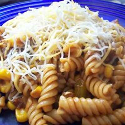 BBQ Chili Pasta - RecipeNode.com