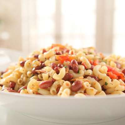 Beans and Bacon Macaroni - RecipeNode.com