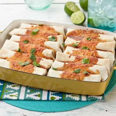 Beef and Bean Burritos - RecipeNode.com