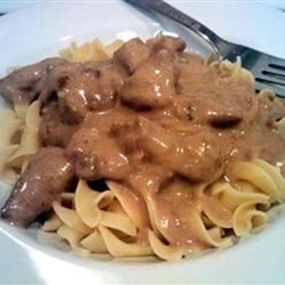 Beef Tips and Noodles - RecipeNode.com