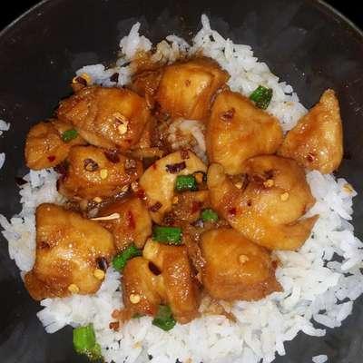 Best Bourbon Chicken - RecipeNode.com