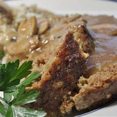 Best Ever Meatloaf with Brown Gravy - RecipeNode.com