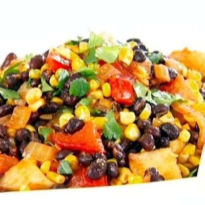 Black Bean, Corn and Tomato Salad - RecipeNode.com