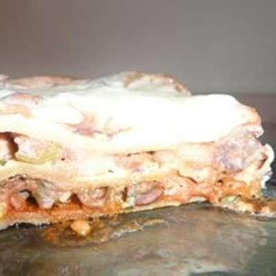 Black Bean Lasagna I - RecipeNode.com