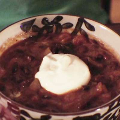 Black Bean Soup - RecipeNode.com