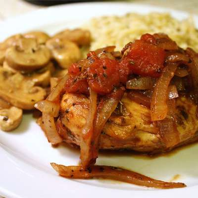 Braised Balsamic Chicken - RecipeNode.com