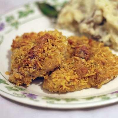 Breaded Parmesan Ranch Chicken - RecipeNode.com