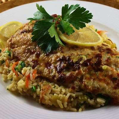 Broiled Grouper Parmesan - RecipeNode.com