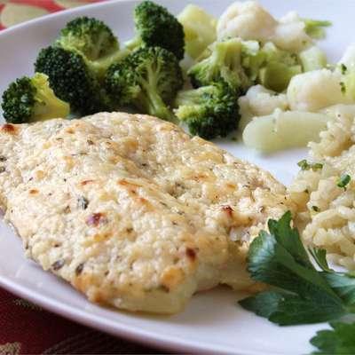 Broiled Tilapia Parmesan - RecipeNode.com