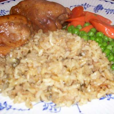 Brown Rice (Baked) - RecipeNode.com