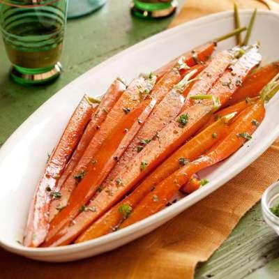 Brown Sugared Carrots - RecipeNode.com