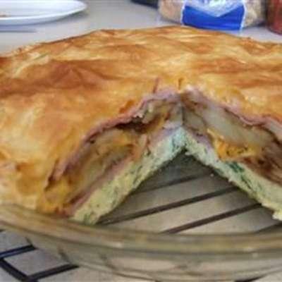 Brunch Omelet Torte - RecipeNode.com