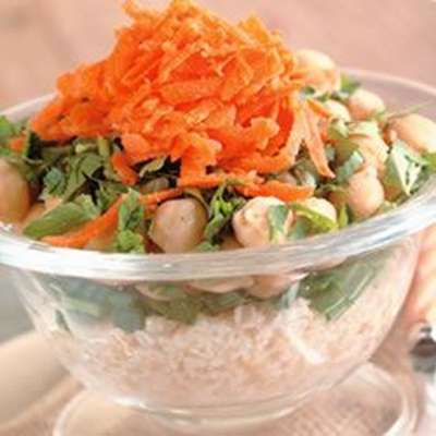 Bulgur Chickpea Salad - RecipeNode.com