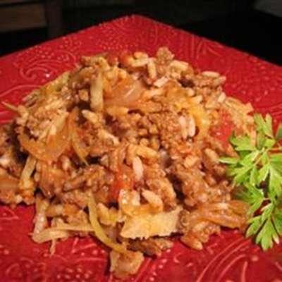 Cabbage Roll Casserole - RecipeNode.com