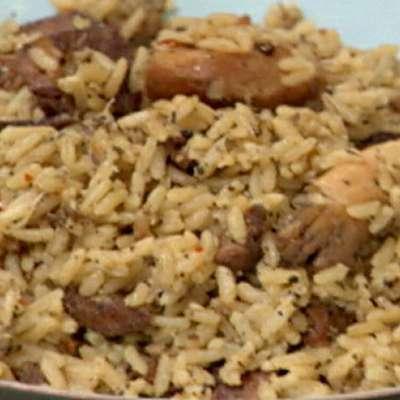 Cajun Chicken and Sausage Jambalaya - RecipeNode.com