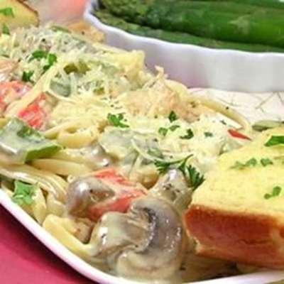 Cajun Chicken Pasta - RecipeNode.com