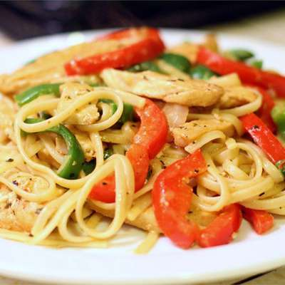 Cajun Chicken Pasta - RecipeNode.com