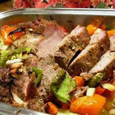Cajun Roasted Pork Loin - RecipeNode.com