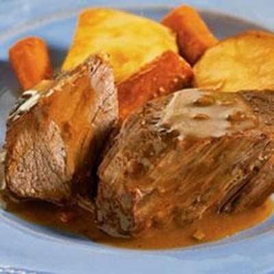 Campbell's® Slow Cooker Savory Pot Roast - RecipeNode.com