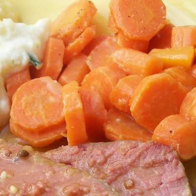 Carrots With Mustard Sauce - RecipeNode.com
