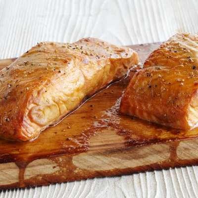 Cedar Plank Salmon - RecipeNode.com