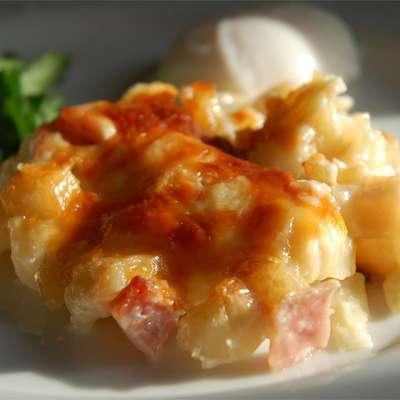 Cheesy Ham and Hash Brown Casserole - RecipeNode.com