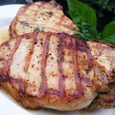 Chesapeake Bay Pork Chops - RecipeNode.com