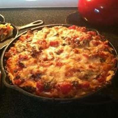 Chicago-Style Pan Pizza - RecipeNode.com