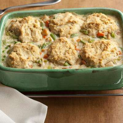 Chicken and Biscuit Pot Pie - RecipeNode.com