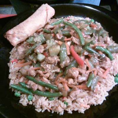 Chicken and Chinese Vegetable Stir-Fry - RecipeNode.com