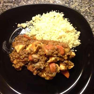 Chicken and Lentils - RecipeNode.com