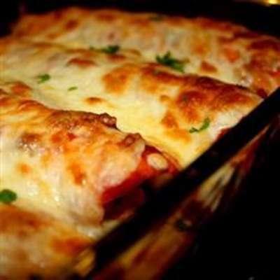 Chicken Enchiladas I - RecipeNode.com