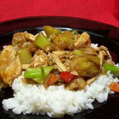 Chicken Pineapple Stir- Fry - RecipeNode.com