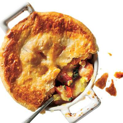 Chicken, Potato, and Leek Pie - RecipeNode.com