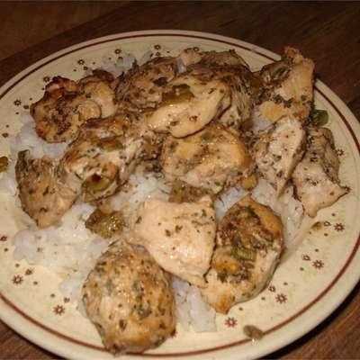Chicken Scampi I - RecipeNode.com