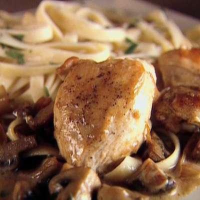 Chicken with Mustard Mascarpone Marsala Sauce - RecipeNode.com