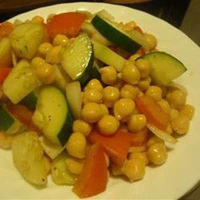Chickpea Salad - RecipeNode.com