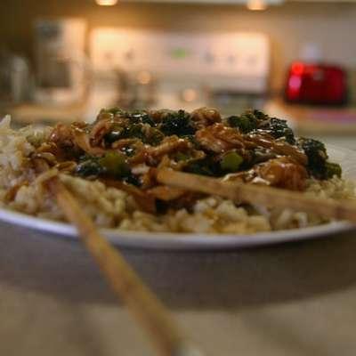 "Chinese ""brown Sauce"" Chicken - RecipeNode.com"