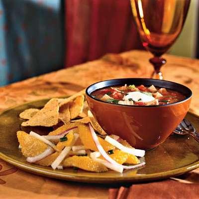Chipotle Chicken and Tomato Soup - RecipeNode.com