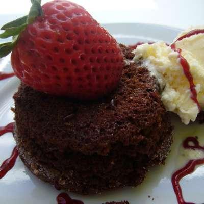Chocolate Lava Cake - RecipeNode.com