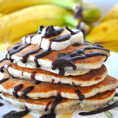 Chunky Monkey Pancakes - RecipeNode.com