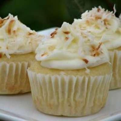 Coconut-Cream Cheese Frosting - RecipeNode.com