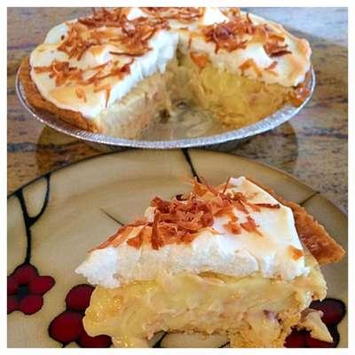Coconut Cream Pie - RecipeNode.com